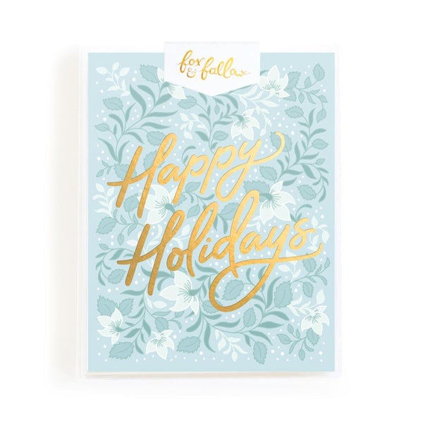 Happy Holidays Bohemia Greeting Card Boxed Set