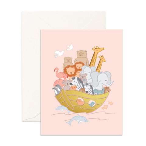 Noah's Arc Greeting Card - Min. of 6 per style