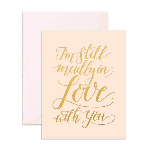 Madly In Love Greeting Card