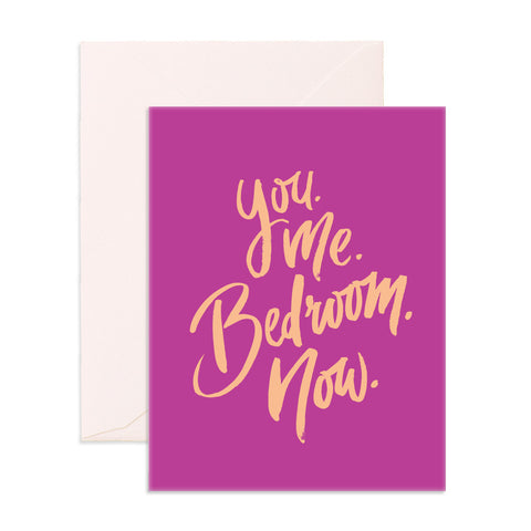 You Me Greeting Card