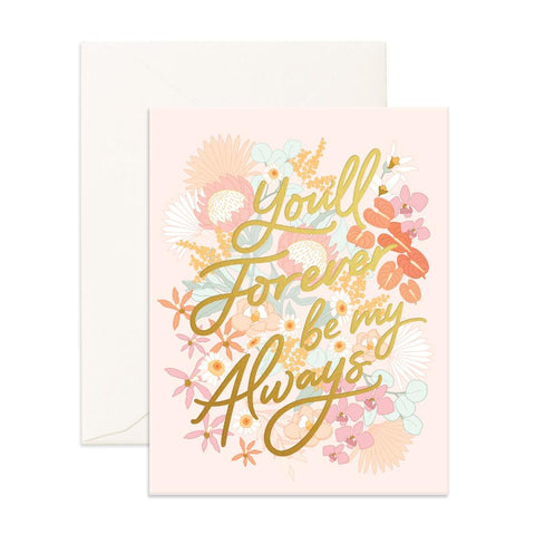 Forever Always Floribunda Greeting Card - Min. of 6 per style