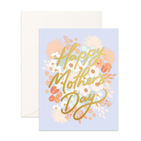 Mother's Day Floribunda Greeting Card- OUT OF STOCK