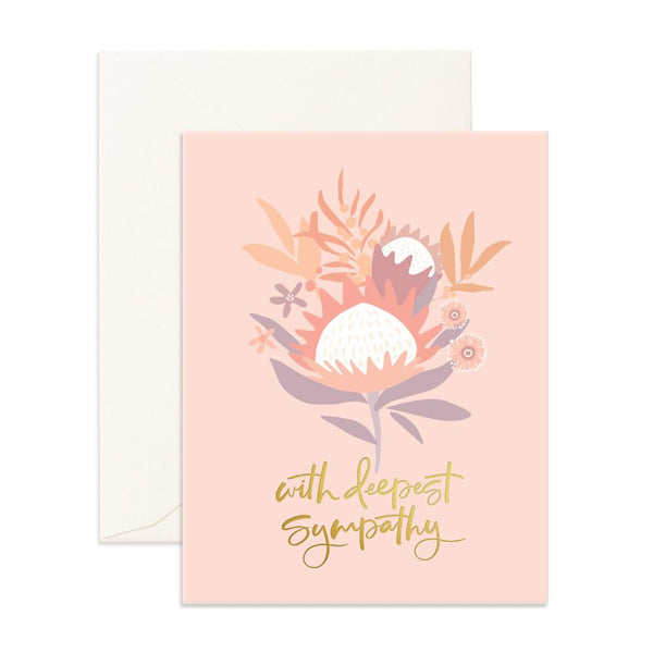 Deepest Sympathy Arcadia Greeting Card - BACK ORDER (ARRIVING OCTOBER)
