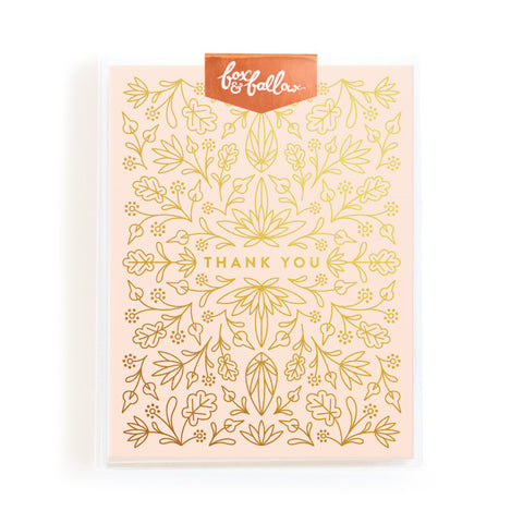Grecian Thank You Greeting Card Boxed Set