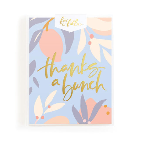 Thanks A Bunch Arcadia Greeting Card Boxed Set - BACK ORDER (NEW STOCK ARRIVING MID-LATE AUGUST)