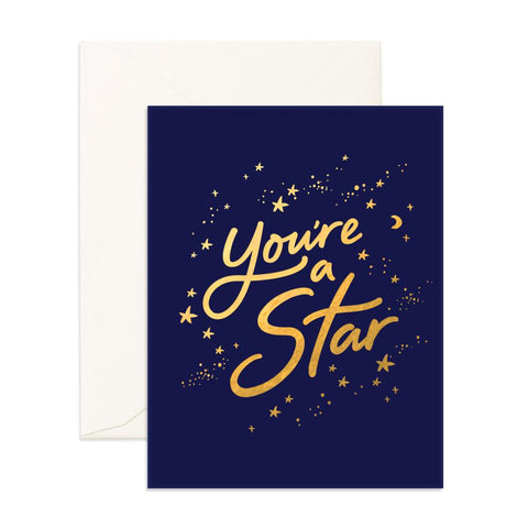 You're A Star Greeting Card - Min. of 6 per style