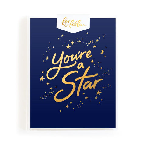 You're A Star Greeting Card Boxed Set - Min. of 4 per style