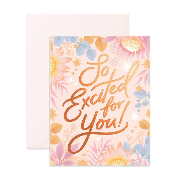 So Excited For You Greeting Card - SOLD OUT