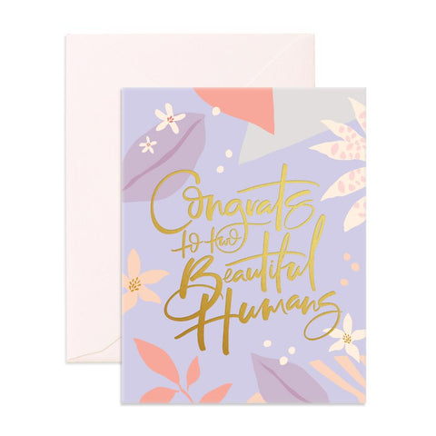 Beautiful Humans Greeting Card - SOLD OUT (NEW STOCK ARRIVING LATE FEB)