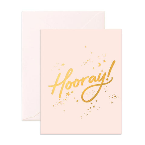 Hooray Stars Greeting Card - Min. of 6 per style