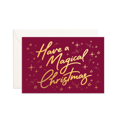 Magical Christmas Mini Greeting Card