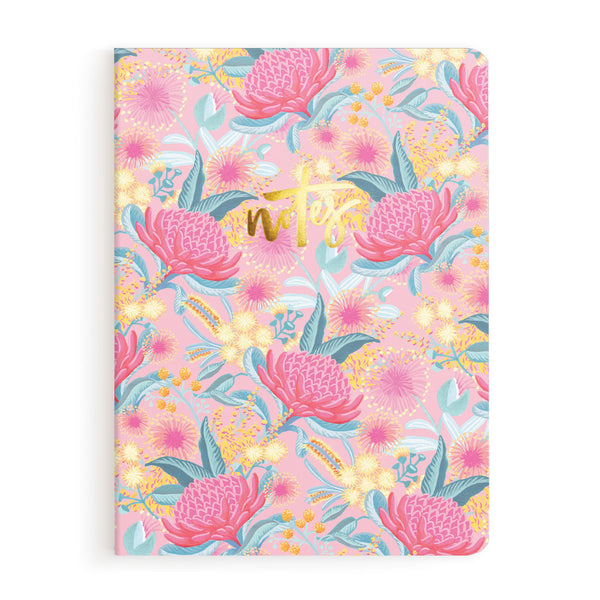 Bottlebrush Notebook