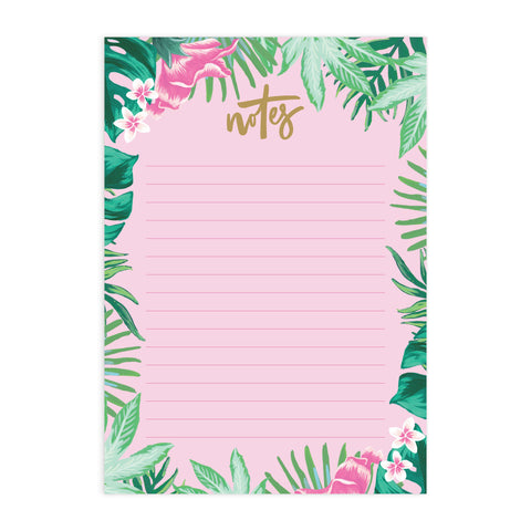 Tropical A5 Notepad Refill