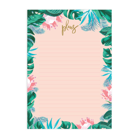 Tropical A4 Notepad Refill