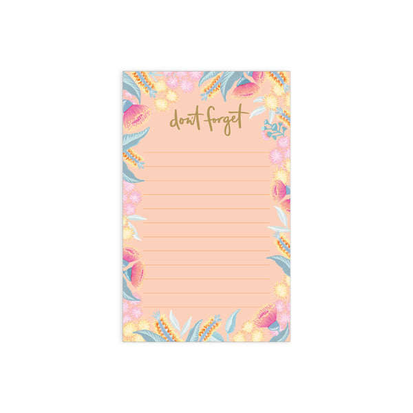 Bottlebrush Magnet Notepad
