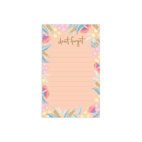 Bottlebrush Mini Magnet Notepad