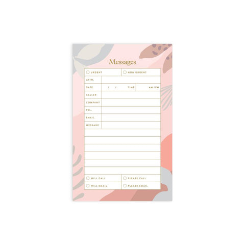 Arcadia Mini Messages Notepad - Min. of 4 per style