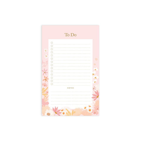 Floribunda Mini To Do Magnet Notepad