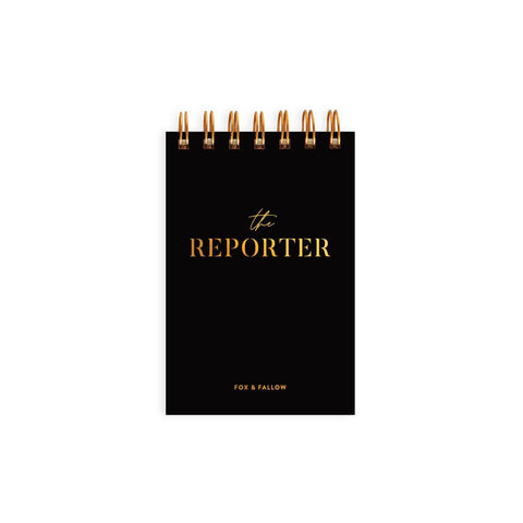 The Reporter Mini Spiral Notebook