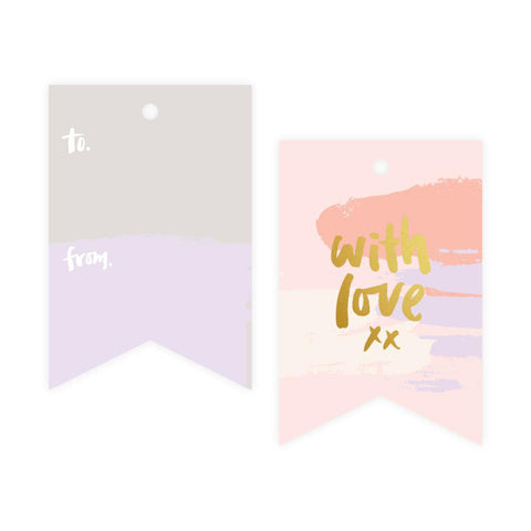 With Love Gift Tag Pack