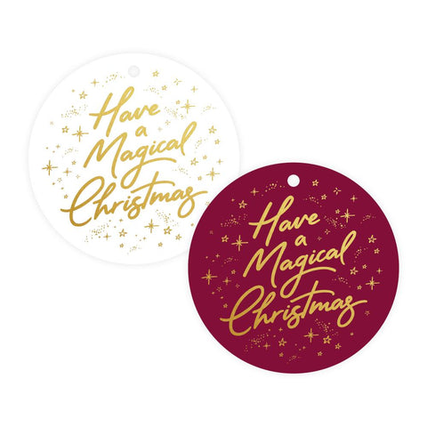 Magical Christmas Gift Tag Pack