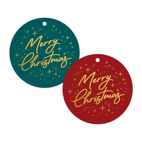 Merry Christmas Gift Tag Pack