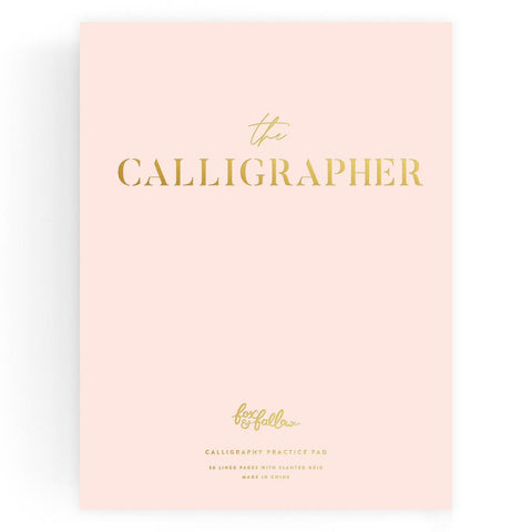 The Calligrapher Practice Pad - Min. of 2 per style