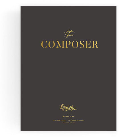The Composer Music Pad - Min. of 2 per style