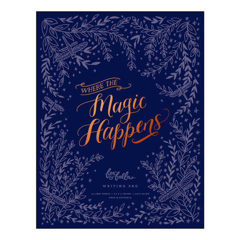 Magic Happens Writing Pad - OUT OF STOCK