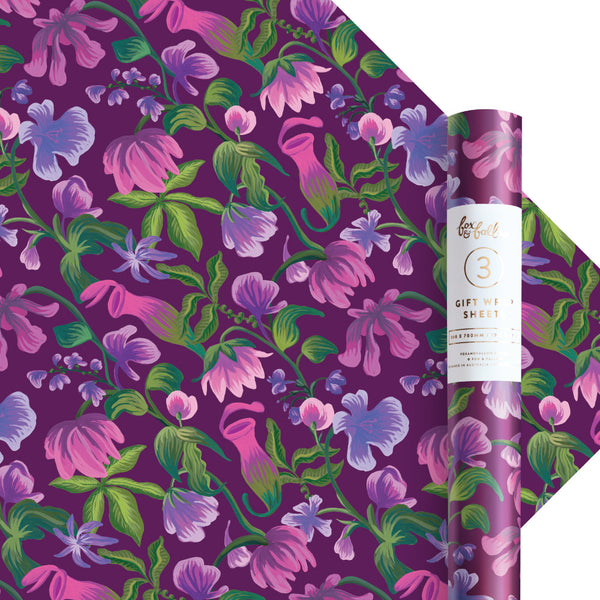 Opium Gift Wrap - 3 Rolls of 3 Sheets - PRE-ORDER - AVAILABLE EARLY JULY