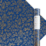 Navy Amulet Gift Wrap - 3 Rolls of 3 Sheets