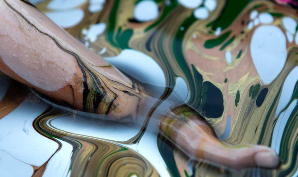 Marbling Body Paint Arm Dip by BLVisuals