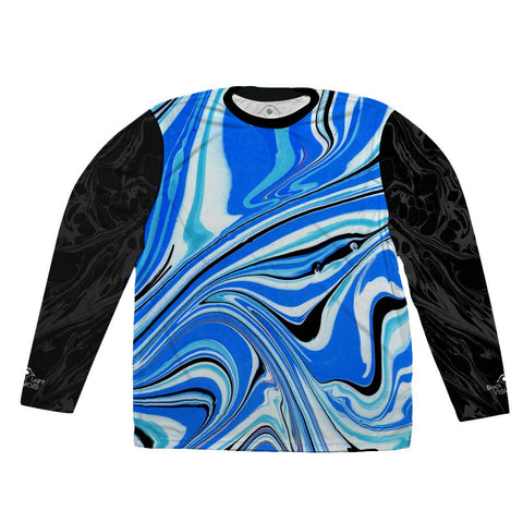 'Aerial Currents' Long Sleeve