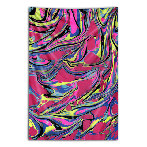 "Wall Tapestry ""Fordite Fortress"""