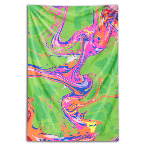 "Wall Tapestry ""Inertia Inspired"""