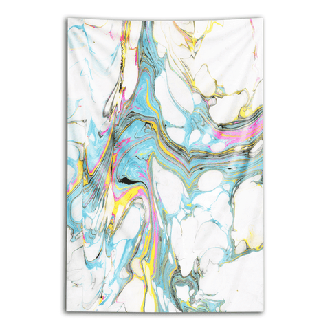 "Wall Tapestry ""Blossoming Ideas"""
