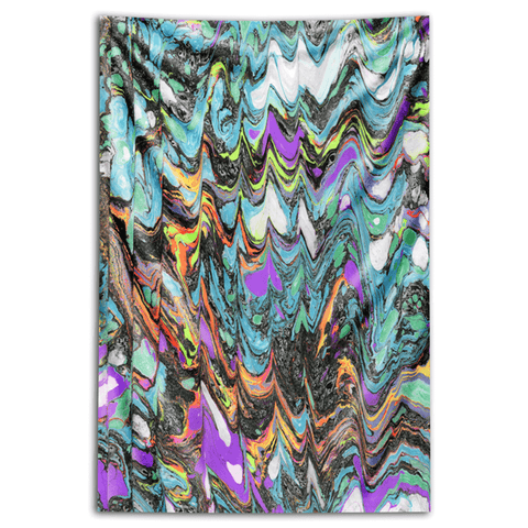 "Wall Tapestry ""Celestial Static"""