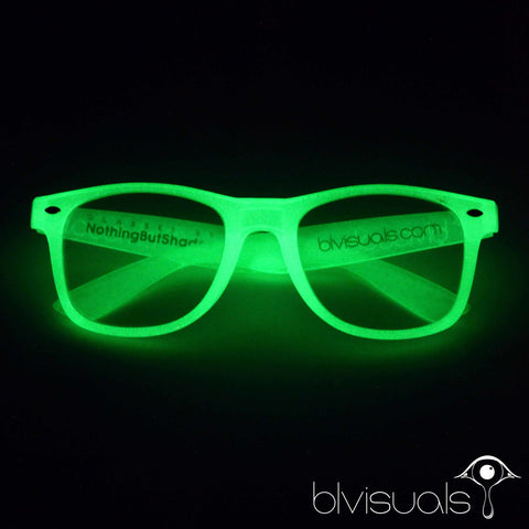 Green ChromaDepth 3D Glasses (Glows-in-the-Dark)