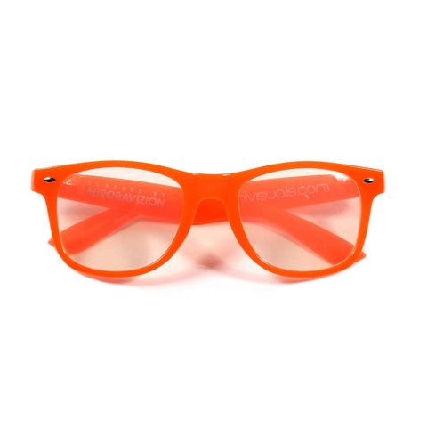 Orange ChromaDepth 3D Glasses (Glows-in-the-Dark)