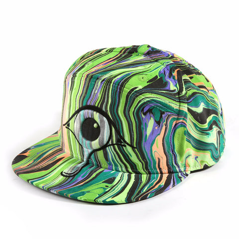 'Green Machine' Premium Fitted Hat