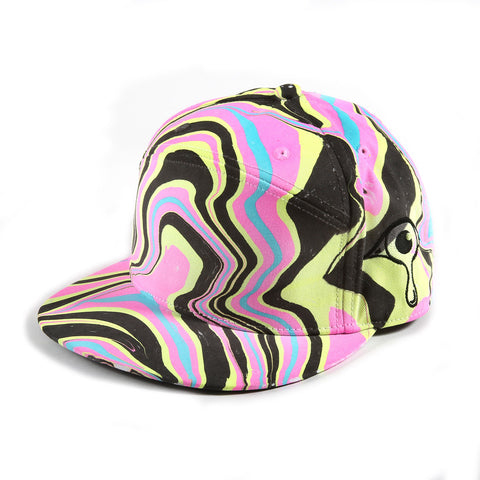 'CMYK' Premium Fitted Hat