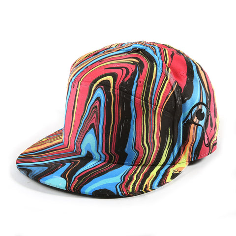 'Fire & Ice' Premium Fitted Hat