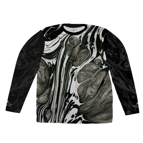 'Spatial Turbulence' Long Sleeve