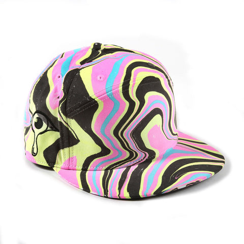 836d2db7271 Painted Hats that Glow in the Dark - Black Light Visuals®