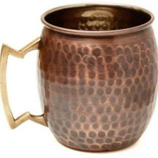 Hammered Antiqued Moscow Mule Mug