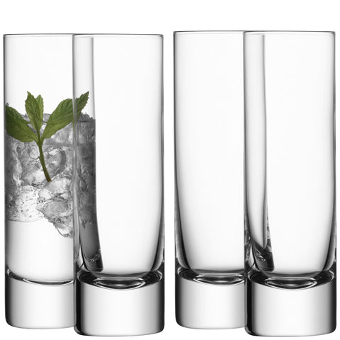 Bar Long Drink Glass - Set of 4