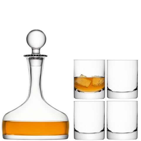 Bar Whiskey Decanter - Set of 5