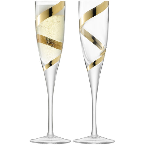 Malika Grand Champagne Flute - Set of 2