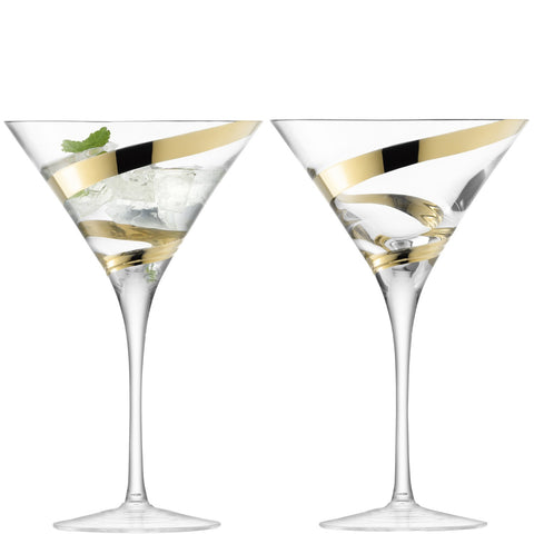 Malika Grand Martini Glass - Set of 2