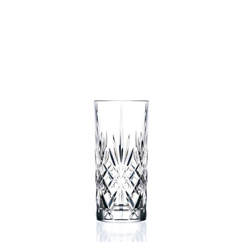RCR Crystal Highball Glass set of 6